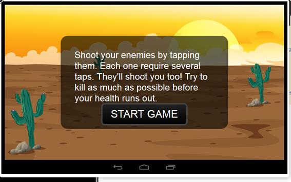 Django Gunplay Showdown apk screenshot