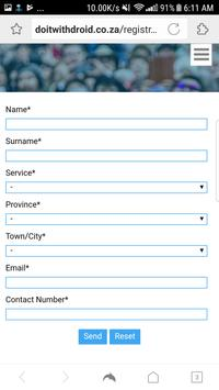 Do It With Droid Service Registration apk screenshot