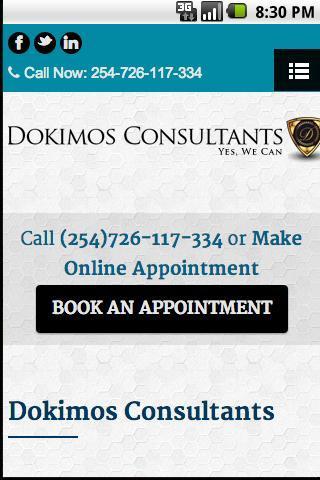 Dokimos Consultants poster
