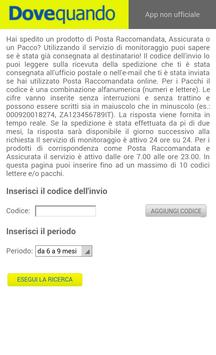 Dovequando (Poste) APK Download - Free Tools APP for Android ...