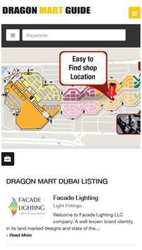 Dragon Mart Guide - Dubai apk screenshot