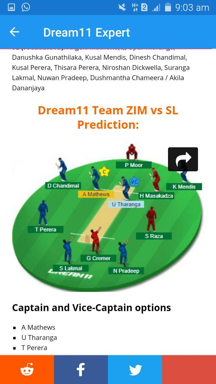 Dream11 Expert for Android - APK Download