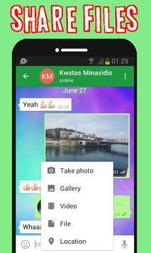 Dream chat free apk screenshot