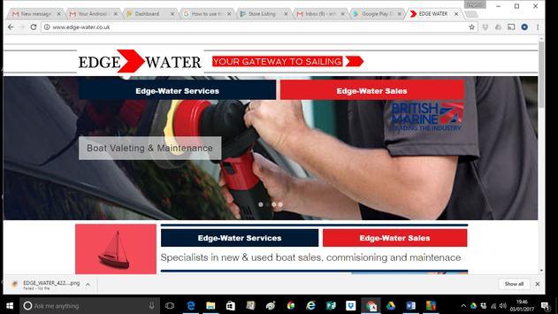 Edge-Water Marine Ltd poster
