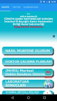 EYÜP DEVLET HASTANESİ screenshot 1