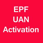 EPF UAN Activation icon