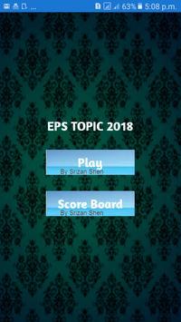 EPS TOPIK 2018 poster