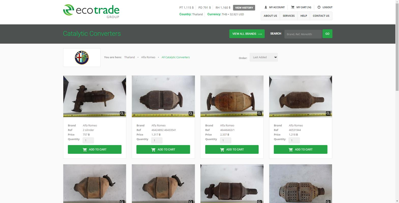 Scrap Catalytic Converter Prices And Pictures >> Ecotrade Group Catalogue APK Download - Free Tools APP for Android   APKPure.com