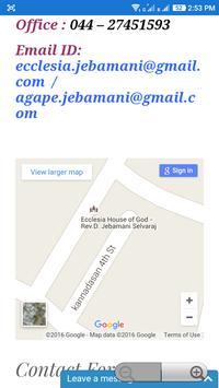 Ecclesia House of God apk screenshot