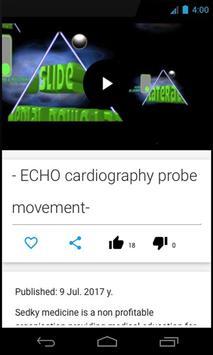 Echocardiography guide screenshot 1