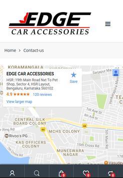 Edge Car Accessories screenshot 10