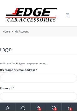Edge Car Accessories screenshot 7