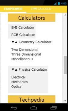 EduProWeb-Free Conversion, Calculator, Articles screenshot 1