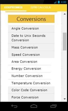 EduProWeb-Free Conversion, Calculator, Articles screenshot 2