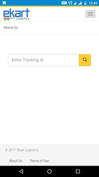 Ekart logistics apk screenshot