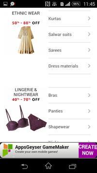 Elbe India Women's Store apk screenshot