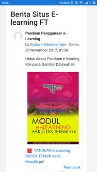 E Learning Fakultas Teknik Uho Smart Faculty For Android Apk