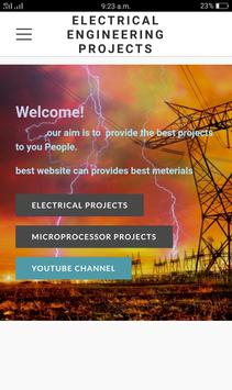 Electrical Projects poster
