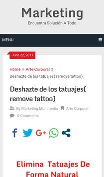Elimina Tus Tattoos poster