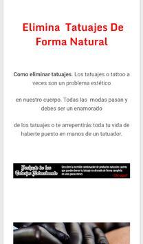 Elimina Tus Tattoos apk screenshot