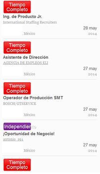 ofertas de empleo trabajos en Distrito Federal (Ciudad de México), buscar trabajo es gratis, encuentra tu nuevo empleo en OCCMundial, ¡entra ahora!