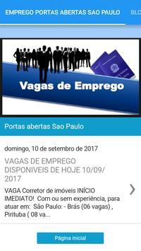 VAGAS DE EMPREGO PORTAS ABERTAS SÃO PAULO poster