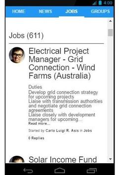 Energy Social Network screenshot 1