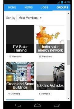 Energy Social Network screenshot 2