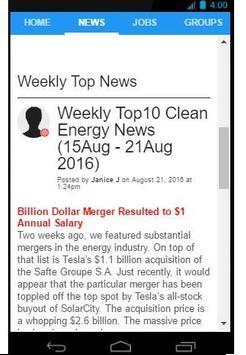 Energy Social Network screenshot 3