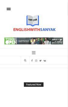 English With Sanyak screenshot 4