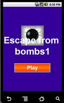 الهروب من القنابل poster