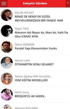 Eskişehir Gündem apk screenshot