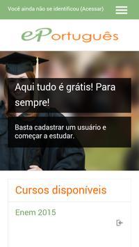 Estude Português poster