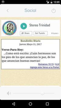 Estereo Trinidad apk screenshot