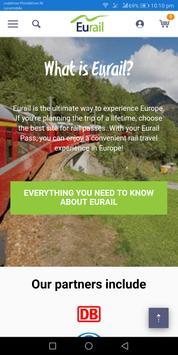 Euro Train Passes screenshot 4