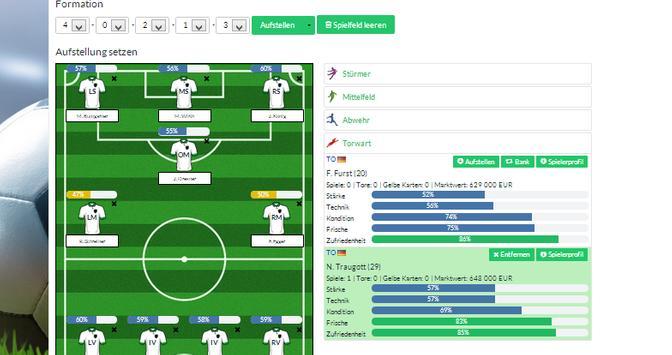 Europafussballmanager apk screenshot