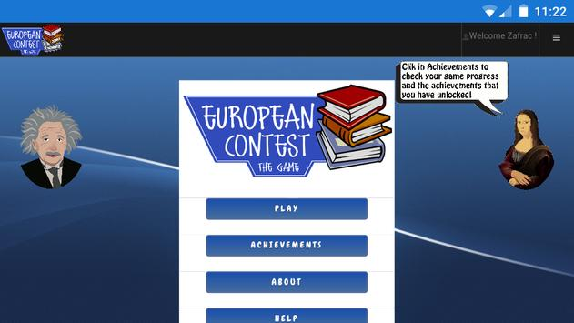 European Contest: The Game poster