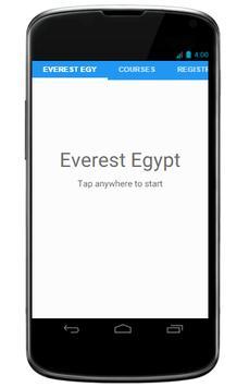 Everest Egypt poster