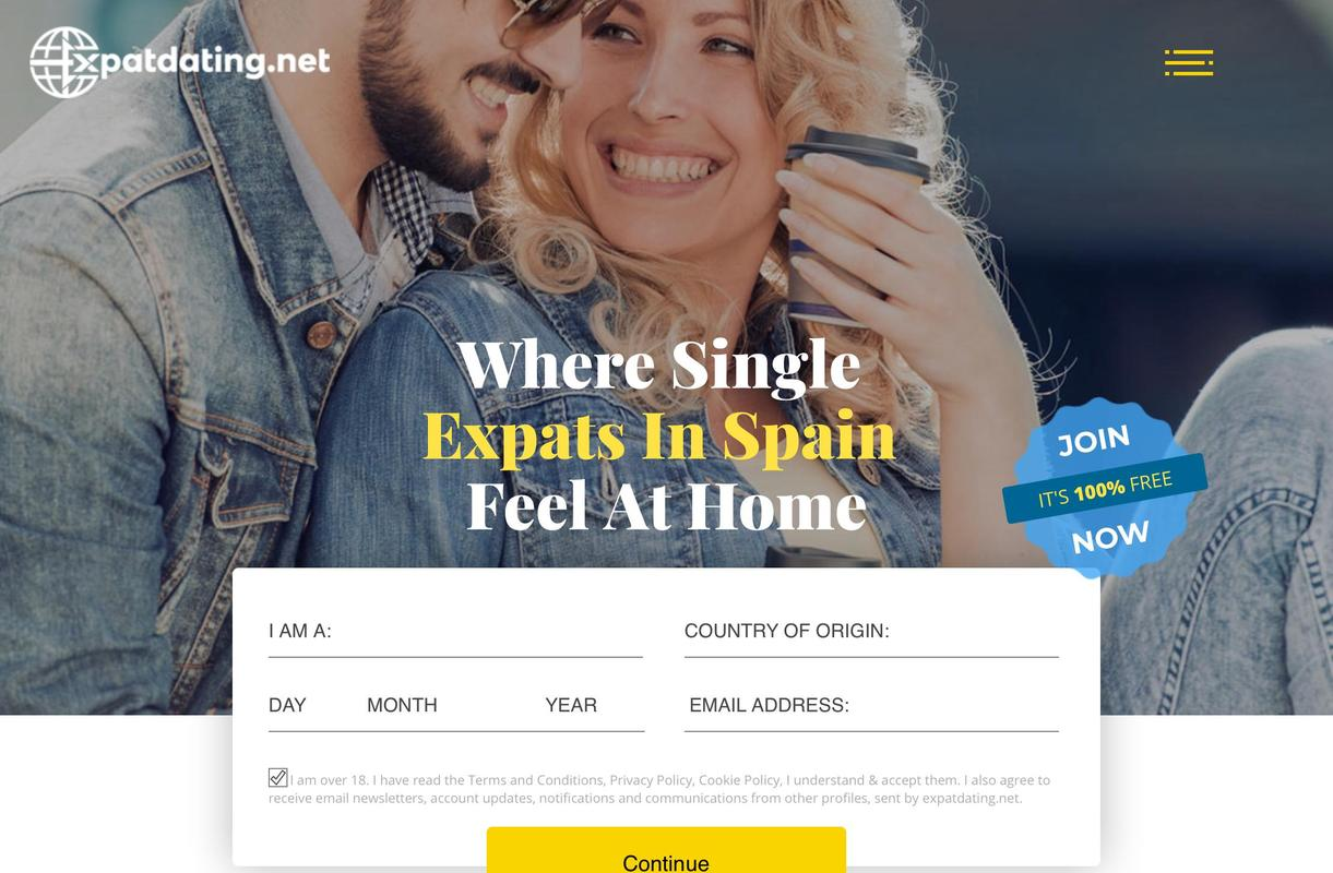 Dating website expats