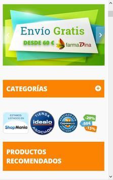 FARMADINA Parafarmacia Online apk screenshot