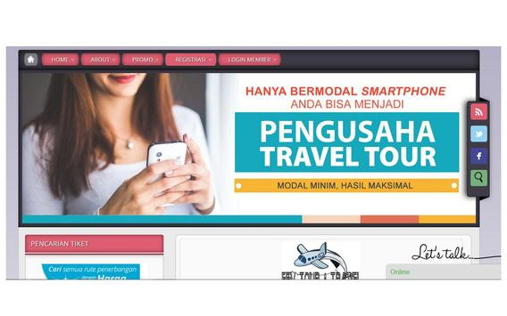 FFv Tour Travel poster