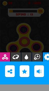 FIDGET SPINNER MULTIPLE THEMES apk screenshot