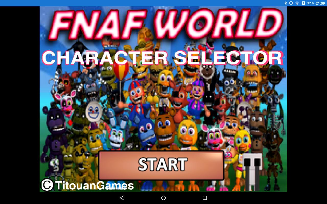 FNAF World [CHARACTERS] for Android - APK Download