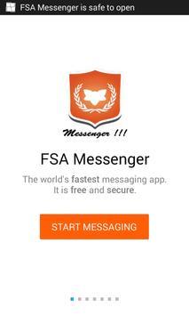FSA Messenger poster