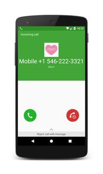 Fake Call Saver poster