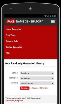 Fake Email Id Generator - (Fake Name Generator) for Android - APK