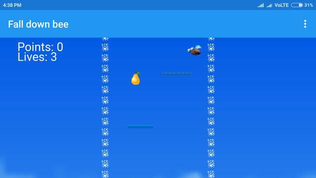 Fall down bee screenshot 4