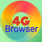 Fast 4G web browsing icon