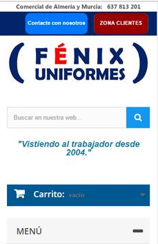 Fénix Uniformes screenshot 1