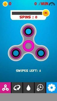 Fidget Spinner Game poster